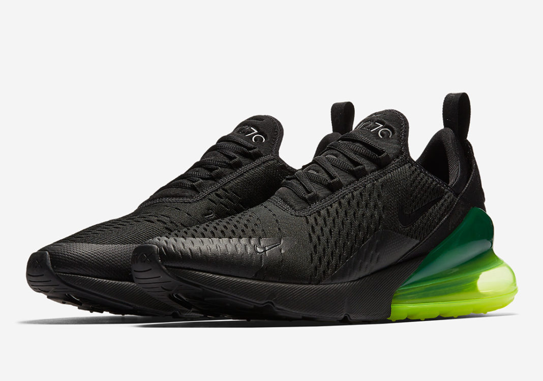 "timeless design 56f9a 654eb Nike Air Max 270 in ""Neon Green"""