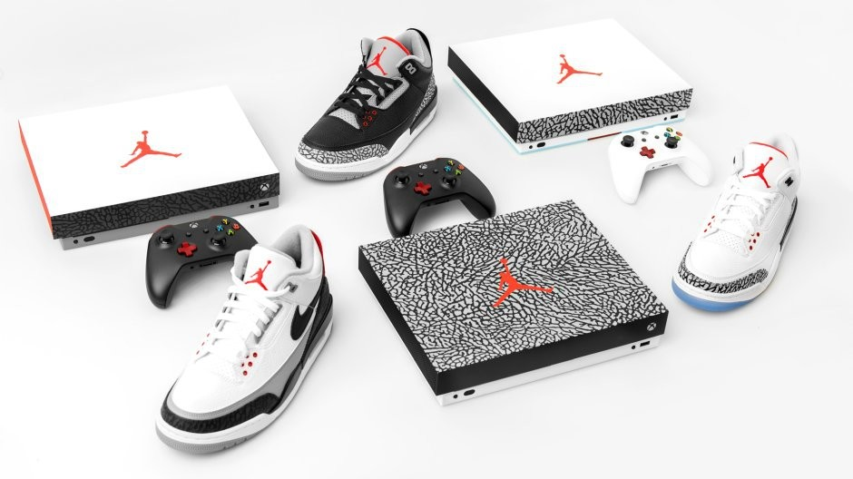 Xbox One im Style der Air Jordan 3 gewinnen