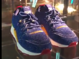 SEGA x PUMA RS-0 (Screenshot: Sonic Team Argentina/YouTube)